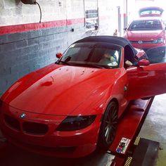 BMW Z4 #bmw #bmwfan #z3 #bimmer #car #auto #cars #carpic #dailypic #daily #picoftheday #red #sportscar #elegant #luxury #follow #instagood #instadaily #instalike #prestigeautotech