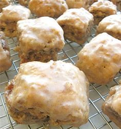 Triple Cinnamon scones.  Make several ways (stuffed and glazed).