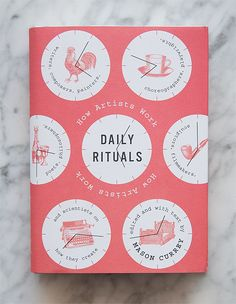 Inspiration Library: Daily Rituals- on my wish list