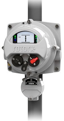 The Rotork Skilmatic SI2 actuators achieve similar