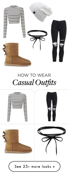 """Winter casual"" by parisisswaggy on Polyvore featuring AMIRI, Miss Selfridge and UGG"