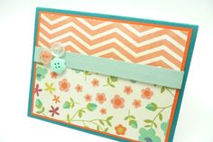 classy+Mother's+Day+Card+Pastel+Floral+Button+by+periwinklecards,+$4.25