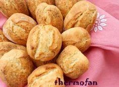 THERMOFAN: Panecillos rápidos y crujientes (TMX / T) Pan Rapido, Pan Dulce, Pan Bread, Empanadas, Sin Gluten, Creative Food, Tapas, Meal Prep, Snack Recipes