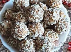 Nejlepší recepty na nepečené cukroví | NejRecept.cz Krispie Treats, Rice Krispies, Muffin, Breakfast, Food, Top Recipes, Morning Coffee, Essen, Muffins