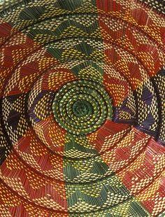 Made by Ethiopian Jewish basket weavers.