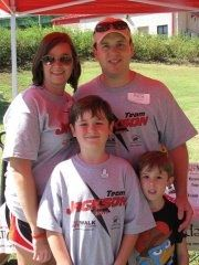 Scott, Ashley, Jackson & Chandler Diabetes Walk 2011.