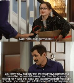 Modern Family=--definition of Jagermeister