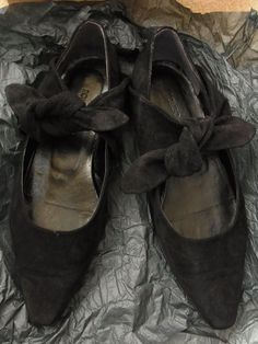 Womens Vintage Romeo Gigli Flat Shoes in Size 36.5(EUR)/6(US) #RomeoGigli #Flats