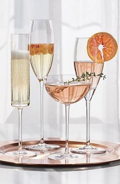 Wedding Registry Ideas -Camille Champagne Coupe Glass