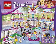 LEGO Friends Heartlake Shopping Mall Building Set 41058 Head to Heartlake Shopping Mall for a girls' day out! Lego Sets, Legos, Dog Accesories, Lego Friends Sets, All Lego, Lego House, Shops, Travel Design, Lego Building
