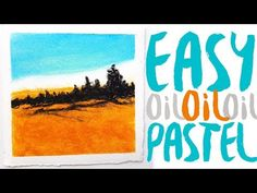 What Paper To Use With Oil Pastel ? Canvas ? Wood Panel ? - YouTube