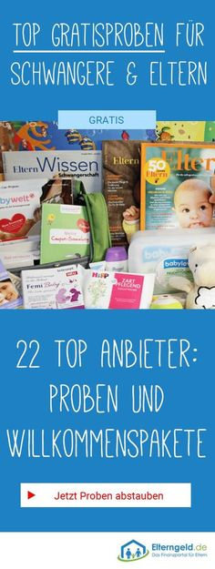 ᐅ 23 free samples and welcome packs for babies - baby - Baby Diy
