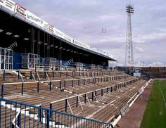 Fratton Park, Portsmouth in the 1980s.