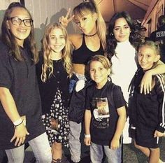 -NEW PHOTO- Ariana Grande and Camila Cabello with fans a while ago