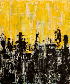 """Saatchi Online Artist: Giorgi Chxeo; Oil 2013 Painting """"June in the city"""""""