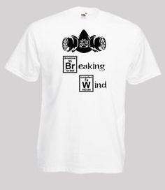 Breaking Wind Funny Spoof Mens #Tshirt S/M/L/XL/2XL/3XL/4XL/5XL #BreakingBad