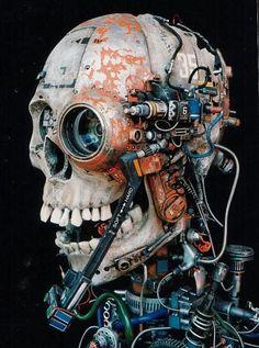 My Avitar - Armored Cyborg Skull - planetArmor