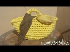 CAPAZO A TRAPILLO PASO PASO !!TUTORIAL DIY ¡¡ / Basket of Trapillo step by step. - YouTube