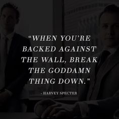 Who doesn't love suits and Harvey Specter? #suits #nevergiveup