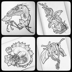 Готовлю серию с дино. И с цветочками. #динозавр #дино #динозавры #dino…