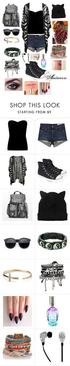 """Autumn"" by katfylexi ❤ liked on Polyvore featuring Lipsy, rag & bone/JEAN, Converse, Monki, TOMS, ASOS and 2Me Style"