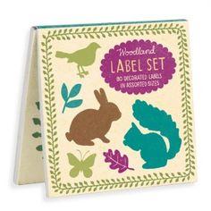 Woodland Book of Labels; Morris & Essex designs for Galison Press
