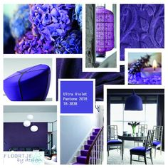 La couleur Pantone 2018 sera...... L'ultra Violet !