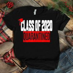 Class of 2020 Graduating Class in Quarantine American T-Shirt IMPORTANT: These shirts are only available for a LIMITED TIME, so act fast and order yours now Graduation Shirts For Family, Unique Graduation Gifts, Senior Shirts, Graduation Quotes, Graduation Parties, Graduation Decorations, Graduation Ideas, Funny Shirts, Tee Shirts