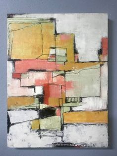 Original Abstract Painting by Shellie Garber Acrylic Paint On Wood, Painting On Wood, Abstract Paintings, Turtle Crafts, Art Graphique, Geometric Art, Wood Paneling, Painting Inspiration, Wood Art