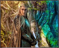 Lee Pace as Thranduil by Maivolchica Lee Pace Thranduil, Legolas And Thranduil, Tauriel, Orlando Bloom Legolas, Misty Eyes, Luthien, O Hobbit, Wood Elf, King Of My Heart