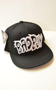 4052bbb15bf34 £20.00 This Korean pop flat brim Black  Bad Boy  cap in the style