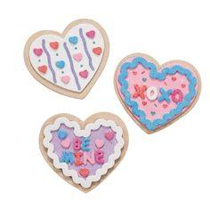 Valentine Cookie Magnet Craft Kit - OrientalTrading.com