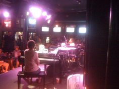 Dueling piano bar on Bourbon Street - New Orleans 2010.