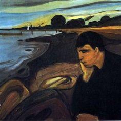 Edvard Munch - Melancholy                                                                                                                                                                                 Mehr