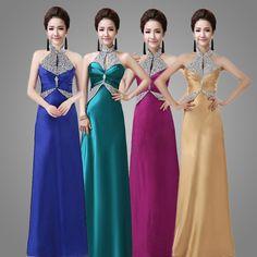 >> Click to Buy << Formal Evening Dresses Sleeveless Beaded Prom Celebrity 2016New Arrival Formal Dress Abendkleider   #Affiliate