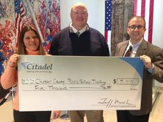 We're proud to support the Chester County Public Safety Training Campus, which is adjacent to our South Coatesville branch. Over the course of three years, we have donated $15,000 to offset costs related to making the building and training programs for Chester County first responders operational.