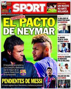 Portada Sport 1/04/2015