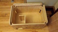 Litter Box Cabinet by DJKWorkshop on Etsy L piece is the solution!