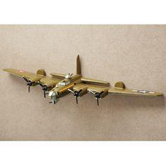 Bomber Wall Sculpture $59.99
