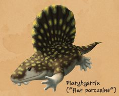 """It's February, so time for another daily art month! This time we're spending 29 days looking at creatures with weird vertebrae and extravagant back ornamentation. """"Sail-backed"""" animals like Dimetrodon and Spinosaurus are the most famous and obvious examples, but we'll also be seeing a few plates, spikes, and strange scales, too.Sails in particular have convergently evolved many different times in unrelated groups – and we don't know why. Although they're often assumed to have been ..."""