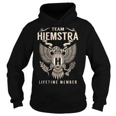 Awesome Tee Team HIEMSTRA Lifetime Member - Last Name, Surname T-Shirt T-Shirts