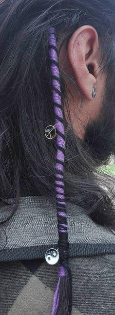 #beach #hairwrap #hippy #boho #clipinhairwrap Boho Necklace, Dreads, Hippy, Crochet Top, Crafty, Hair Styles, Beach, Summer, Hair Plait Styles