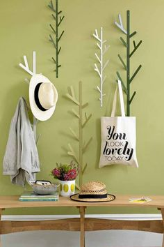 Looking for home decorative accessories or unique ideas? Bouf has what you need. Including great home decoration gifts or decorative accessories for garden. Coat Hanger, Coat Hooks, Wall Hanger, Wall Hooks, Hanger Hooks, Plant Hangers, Decorative Accessories, Home Accessories, Living Room Green