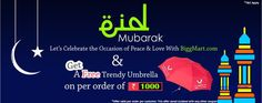 Eid Mubarak ! Lets's celebrate the occasion of peace & love with Biggmart