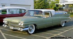 1959 Cadillac flower car