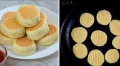 Biscuiți deosebiți și neobișnuiți - Nu necesită coacere în cuptor, se pregătesc pe tigaie Diy Kitchen, Scones, Biscuits, Recipies, Muffin, Food And Drink, Lime, Pizza, Cookies