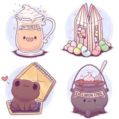 -🍬 I had a bunch of fun working on this Harry Potter food and drink series! … 🍬 I had a bunch of fun working on this Harry Potter food and drink series! 🍬 Would you like to see more of these? 😊💕 See it Harry Potter World, Fanart Harry Potter, Arte Do Harry Potter, Cute Harry Potter, Harry Potter Studios, Harry Potter Drawings, Harry Potter Pictures, Harry Potter Wallpaper, Harry Potter Memes