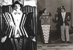 Sonia Delaunay costumes for play directed by Tristan Tzara Sonia Delaunay, Robert Delaunay, Tristan Tzara, Kurt Schwitters, Bauhaus, Photomontage, Cindy Sherman Photography, Ballet Russe, Nova
