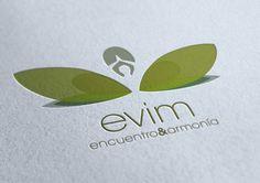EVIM: Logo Design for Yoga Studio