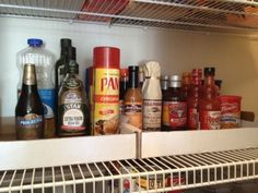 Organize your pantry using cardboard box lids, wire shelving problem solved! – The Frugal Find – Save More, Give More, Live More.